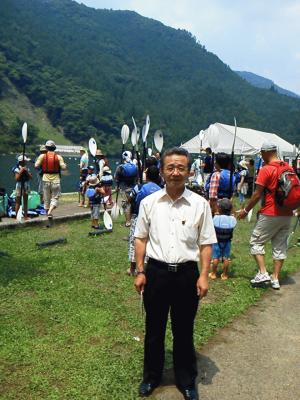 カヌー祭り